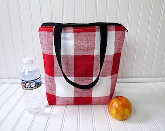 Lunch Bag - Deluxe Lunch Tote - Insulated Lunch Tote -Lunch Bag For Women -  Large Lunch Tote - Monogrammed Lunch Bag - Teacher Gift