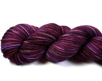 Bossa Nova--hand dyed sock weight yarn, 2 ply merino, cashmere, nylon (400yds/100gm)