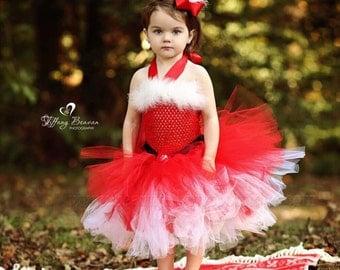 Mrs Claus Tutu Dress,Santa Baby Girl Costume,Santa Baby Tutu,Christmas Tutu Dress,Girls Mrs Claus Costume,Mrs Claus Christmas Dress,Holiday
