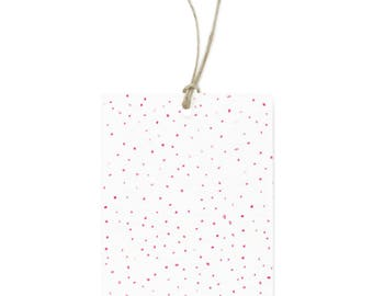 Pink Dot Gift Tags