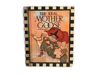 The Real Mother Goose - Gosling edition - 1937 - Rand McNally