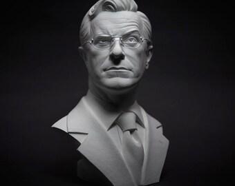 Bust of Steven Colbert - 1/2 scale