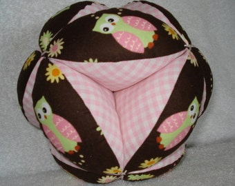 Little Hoot Easy-Catch Baby/Toddler Clutch Ball