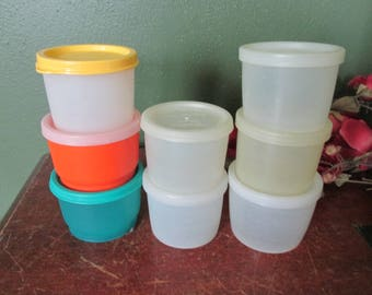 Tupperware Snack Cups Set of 8