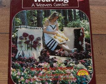 vintage 70s weaving patterns A Weavers Garden wall hangings