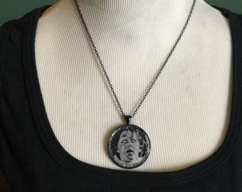 Exorcist - Regan Round Black Necklace