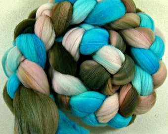 Estrella merino wool top for spinning and felting (4 ounces)