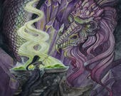 Crystal Dragon - Original...