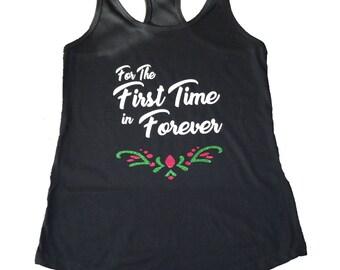 Anna Shirt, Anna Running Shirt, Anna Costume, Fairy Tale Shirt, Frozen Shirt, Disney Tank, Run Disney Shirt