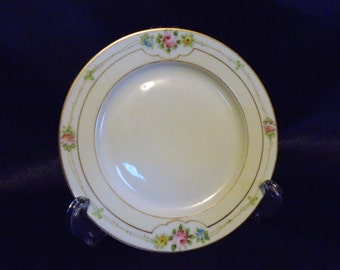 Vintage 1960s Hand Painted Porcelain Sefton Nippon Bread Plate Replacement Piece