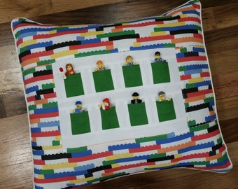 Lego Throw Pillow And Blanket Set : lego pillow ? Etsy