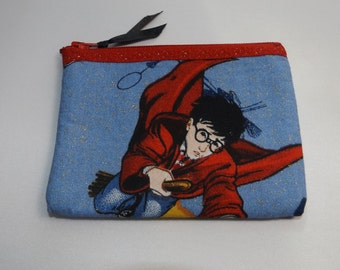 Harry Potter Fabric Coin Purse--Handmade