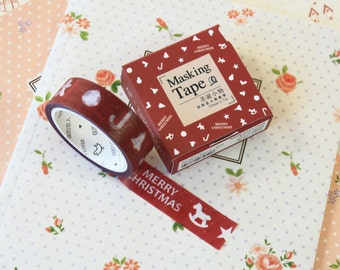 06 Cute Christmas Cardlover Cartoon washi masking tape