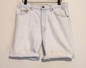 Levi's Light Wash Jean Shorts