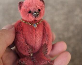 Jelly, Mini Miniature Artist Teddy Bear by Aerlinn Bears