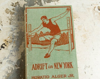 1910s NEW YORK Vintage Lined Journal Notebook