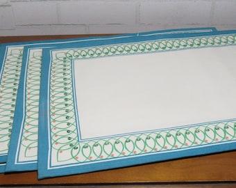 Retro Placemats, Vintage Table Linens