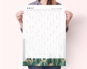 2017 Cactus Wall Planner