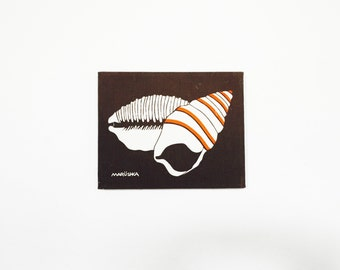 Vintage Marüshka Seashell Screen Print