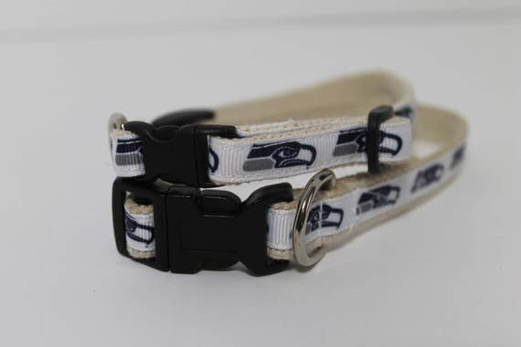 Seattle Seahawks cat or dog collar