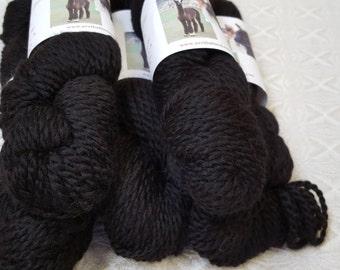 Natural Black Alpaca Yarn