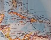 Custom Order for Lisa 2 Caribbean Map Travel Journals