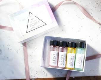 Perfume Gift Set | Easter Gift | Spring Rainbow Perfumes | Valentine Gift | 100% natural and vegan set for her