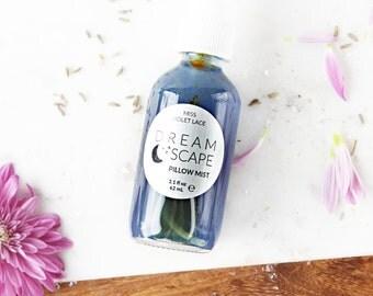 Pillow Mist | Night Body Mist, Bedroom Spray | 100% natural + vegan | Dreamscape