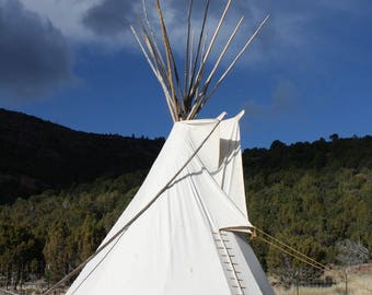 Sioux Style Backyard Tipi/Teepee - 8ft.