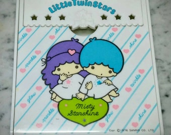 Sanrio - Little Twin Stars Notepad and Pen Holder - Rare