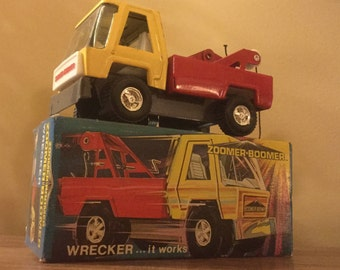 Vintage 1970s Topper Toys Zoomer Boomer Wrecker