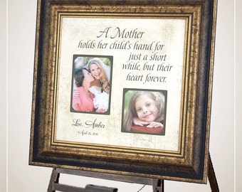 Mother of the Bride Gift, Personalized Wedding Gift for Mom,16 X 16