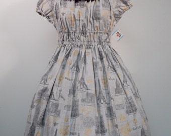 Parisian Sights Onepiece Dress