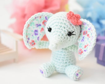 PATTERN - Tiny luck elephant - crochet pattern, amigurumi pattern, pdf