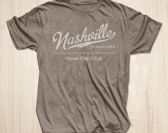 Nashville Shirt in Heather Brown