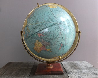 Vintage Cram's Imperial 12-inch World Globe