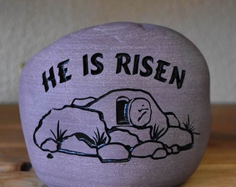 He Is Risen Rock
