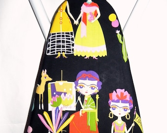 Ironing Board Cover - Frida Kahlo Alexander Henry fabric - Laundry and Housewares