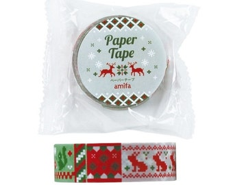 Nordic Christmas Washi Tape (15mm X 5M)