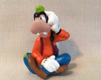Disney Goofy Hard Rubber Plastic  Toy