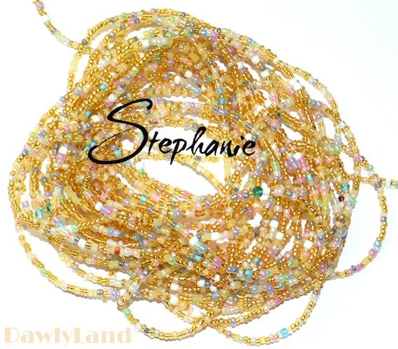 Stephanie ~ Waist Beads ~ YourWaistBeads.com