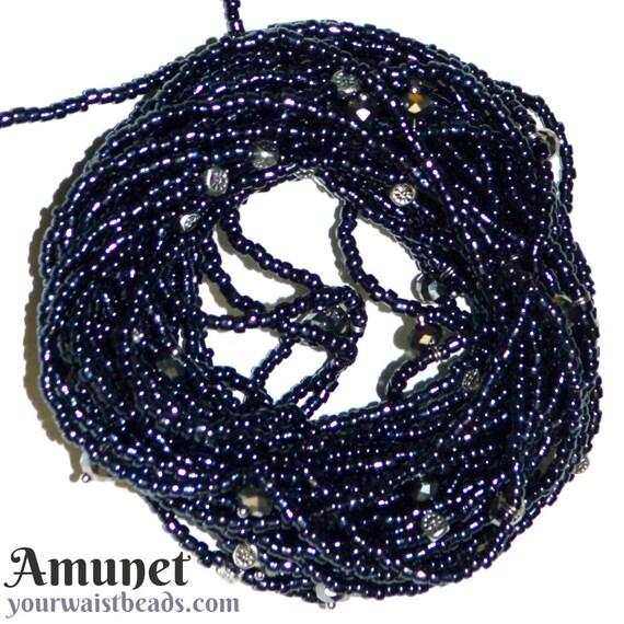 Waist Beads ~Amunet ~ YourWaistBeads.com