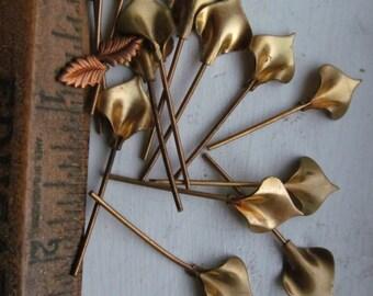 Calla Lily Headpins