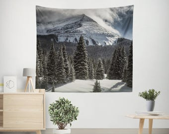 Colorado Summit Wall Tapestry, Mountain Decor, Nature Tapestry, Large Wall Art, Rocky Mountains Tapestry, Colorado Mountains, Purgatory