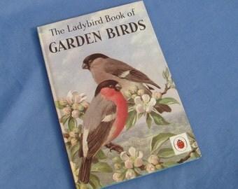 Garden Birds - Vintage Ladybird Book Series 536 - 1968 edition - Matt Covers 2/6 Tally 225 - Hardback