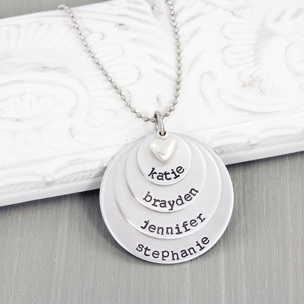 personalized jewelry mom necklace name necklace. Black Bedroom Furniture Sets. Home Design Ideas