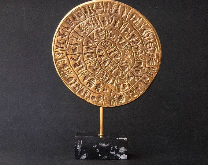 Featured listing image: Minoan Crete Mystery Phaistos Disc