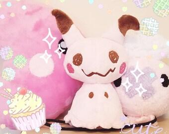 LIMITED BABY PINK Mimikyu Plush Doll - Poekmon Fan Plushie Toy