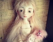 2nd payment RESERVED For Honeybelle-OOAK Art Doll Porcelain Ball Jointed Doll *Lionie*