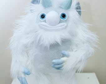 "Yeti Art Doll ""Bobcat"""